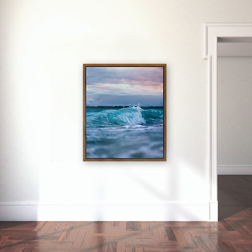 Blue Waves  Art