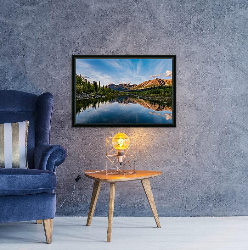 Alaskan Reflection  Art