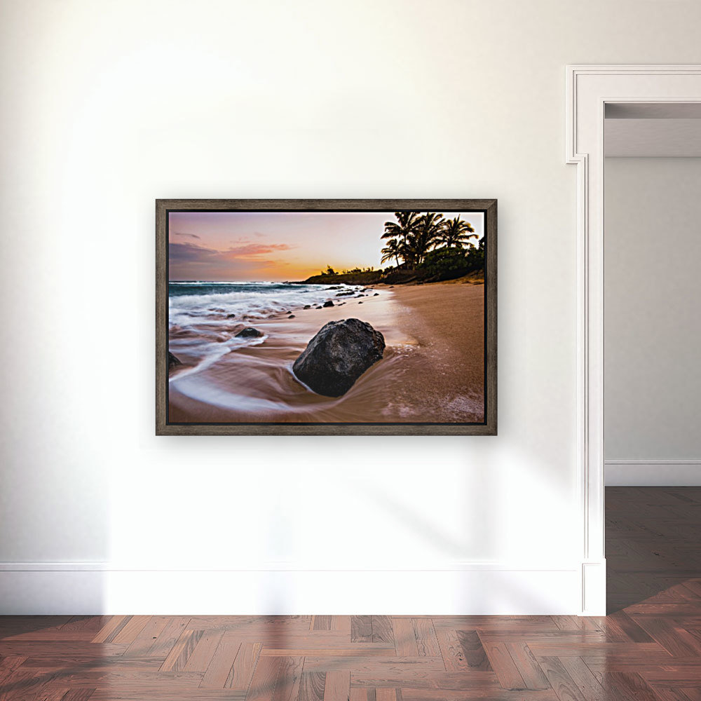 Smooth Shore with Floating Frame