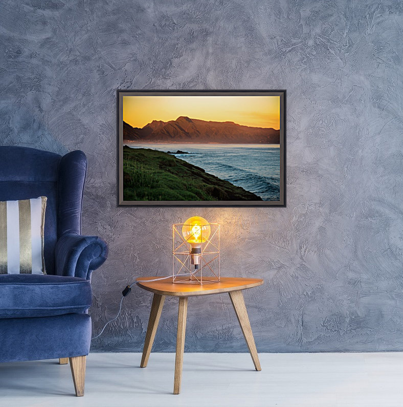 Beauty of Maui with Floating Frame