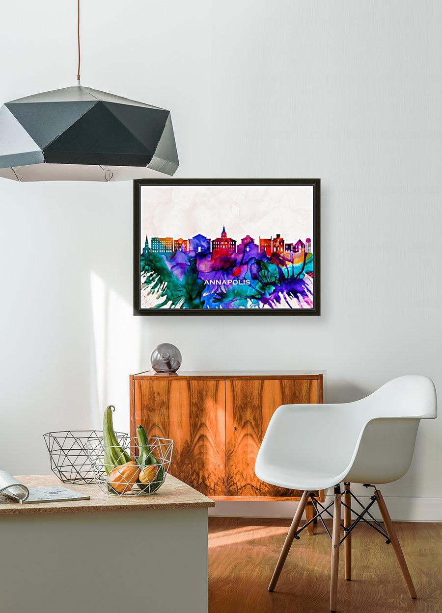 Annapolis Skyline  Art