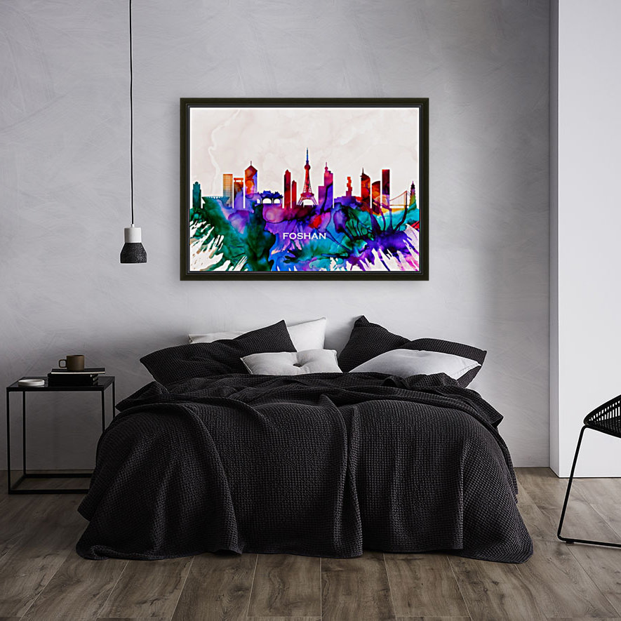 Foshan Skyline  Art