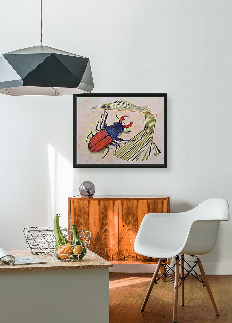 stag beetle  Art