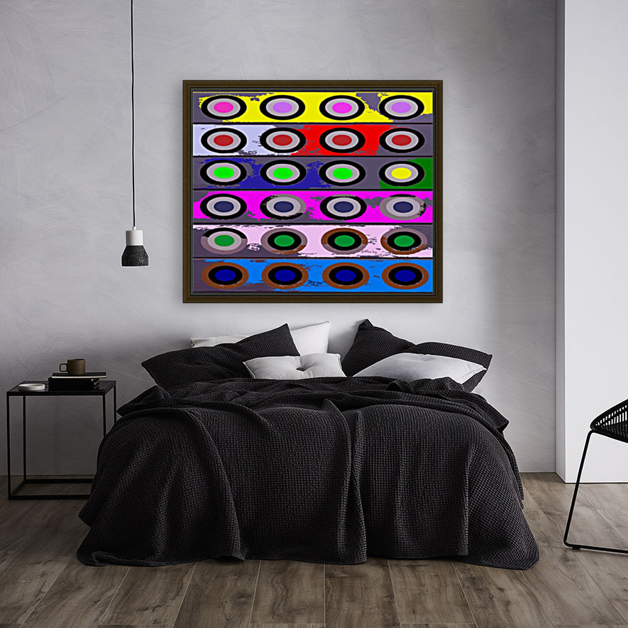 Circle Crazy by dePace  Art