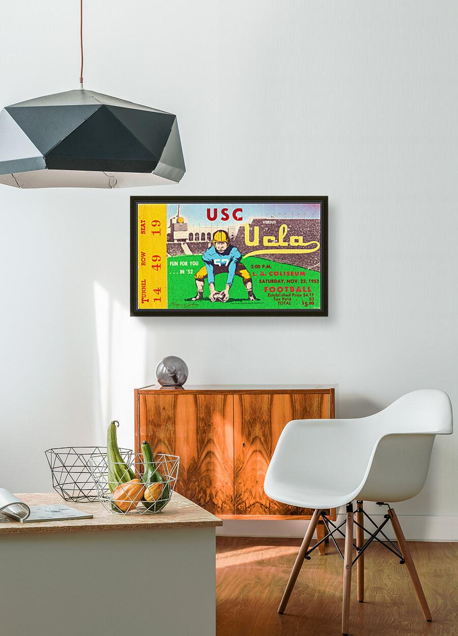 1952 USC vs. UCLA  Art