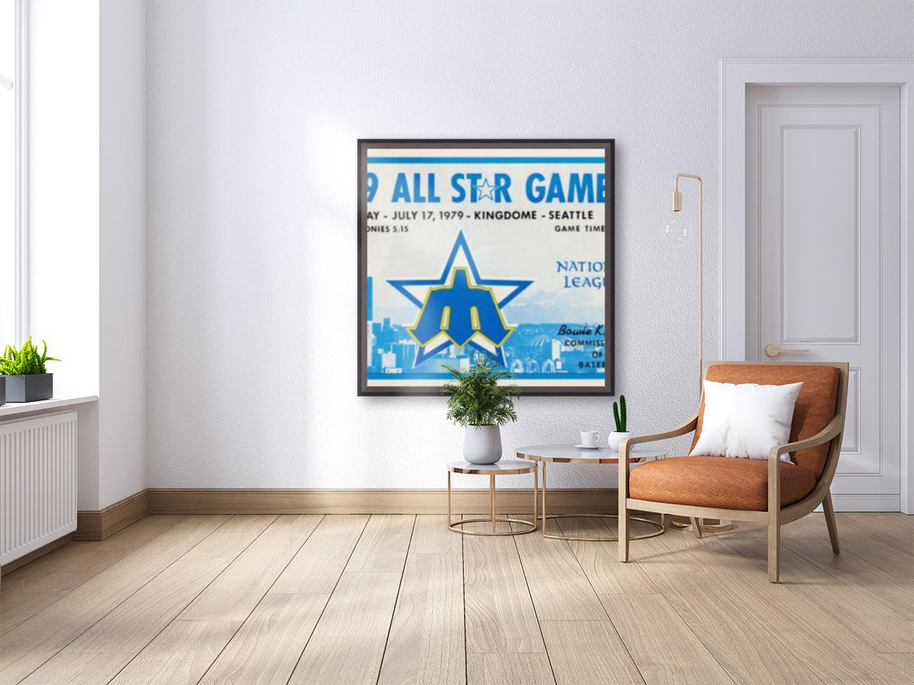 1979 Major League All-Star Game Seattle  Art