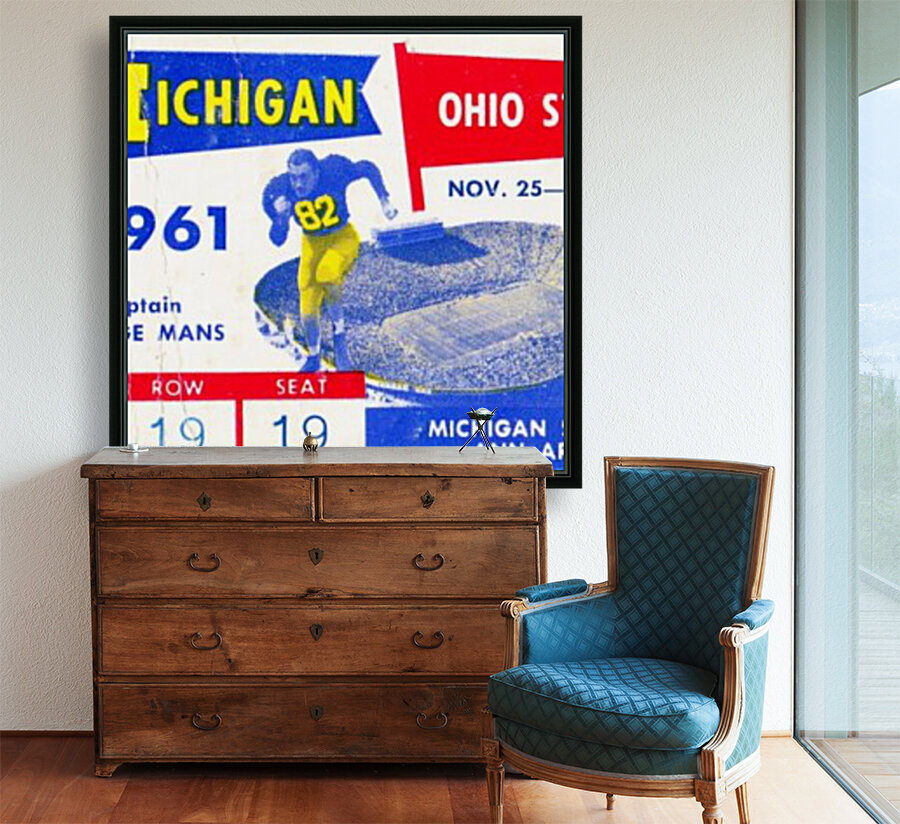 1961_College_Football_Ohio State vs. Michigan_Michigan Stadium_Ann Arbor_Row One Brand  Art