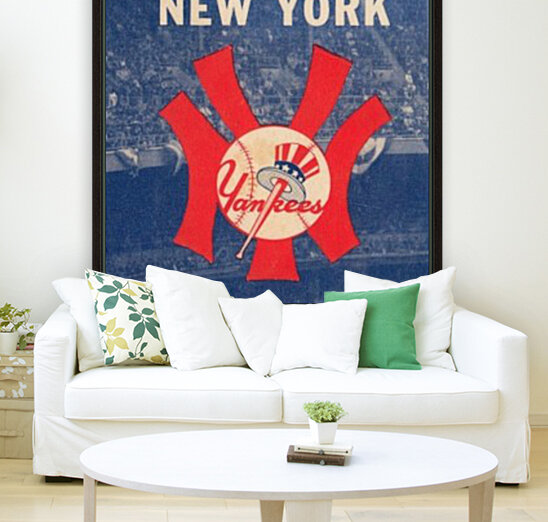 1963 New York Yankees Baseball Cover Art by Row One Brand   Art