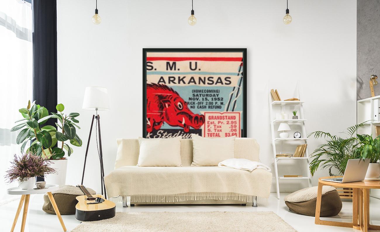 1952 SMU vs. Arkansas  Art