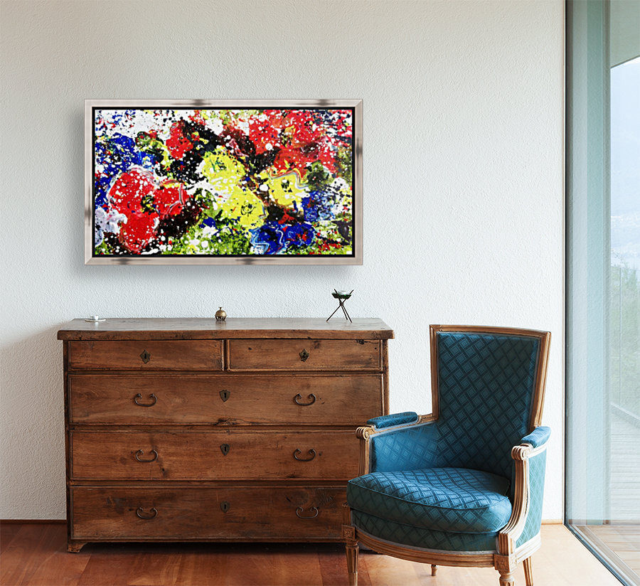 Primary Blossom  Art