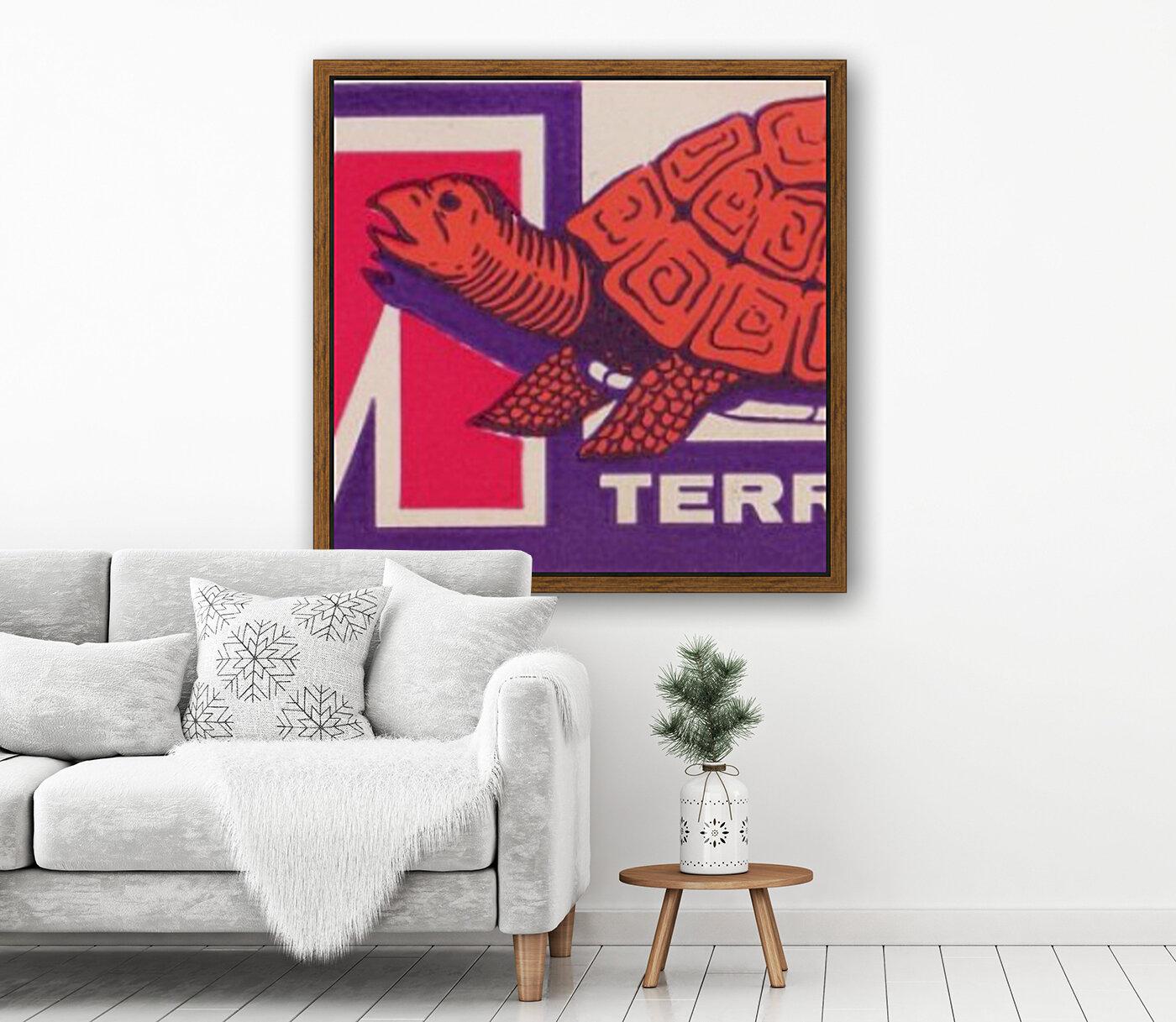 1957 Maryland Terrapin Art Reproduction  Art