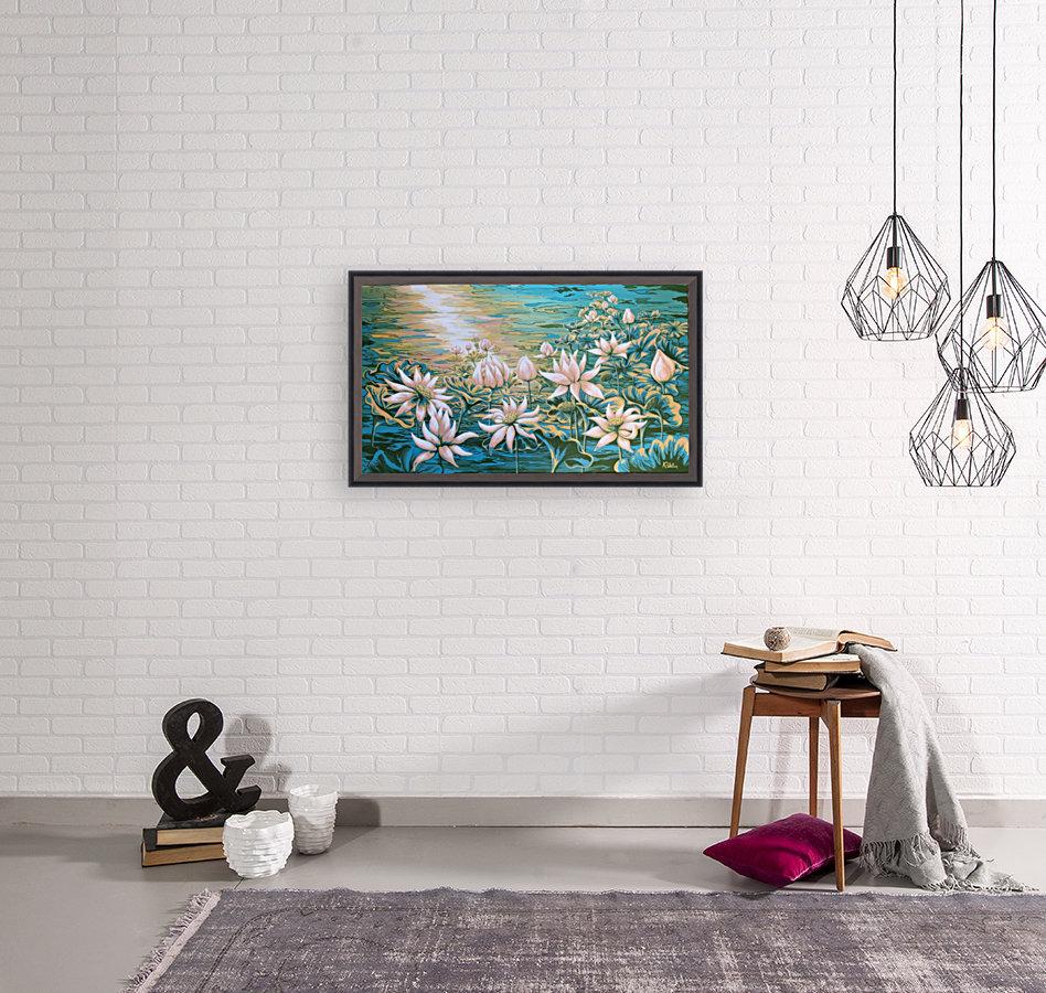 Pink lotus  Art