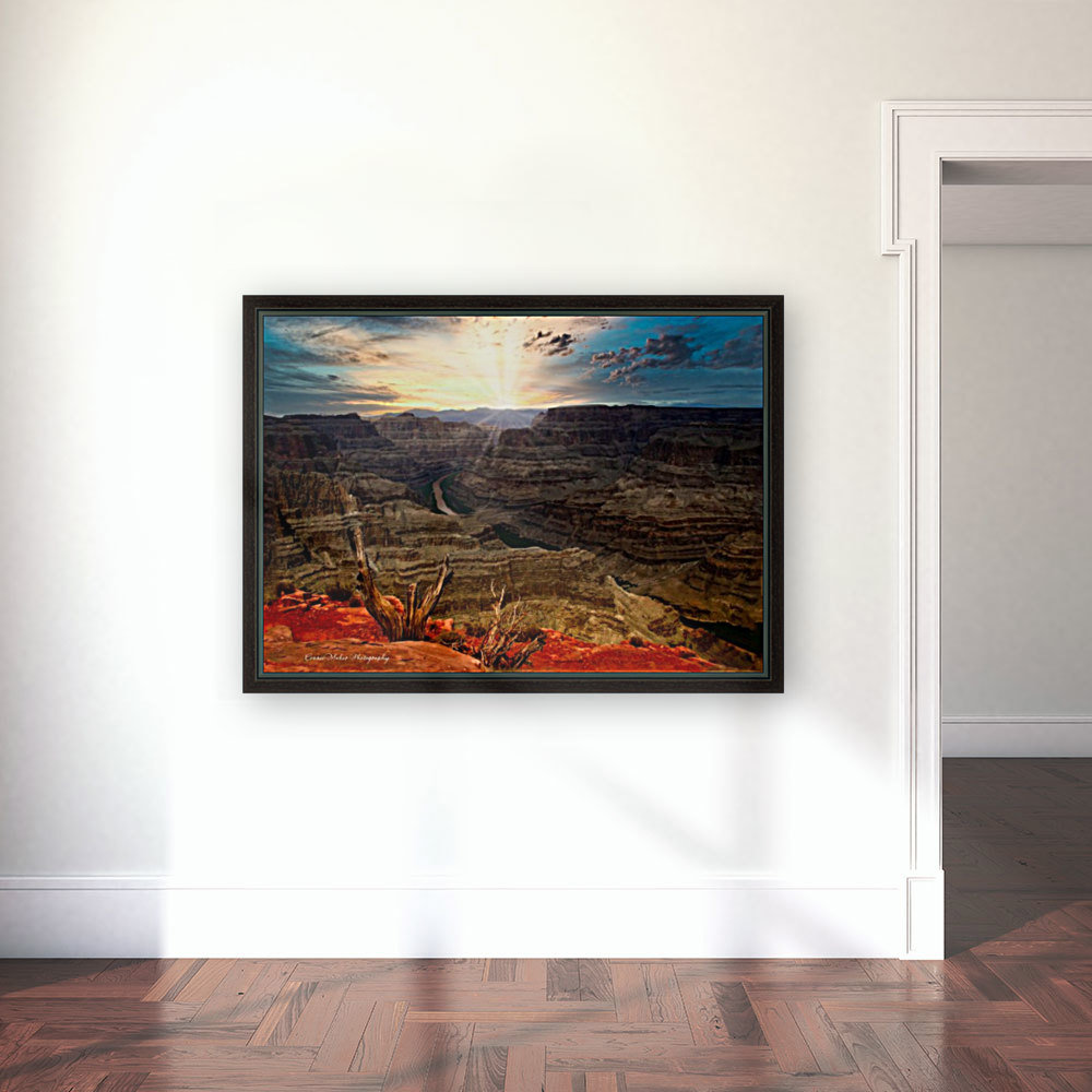 Sunrise over Grand Canyon  Art