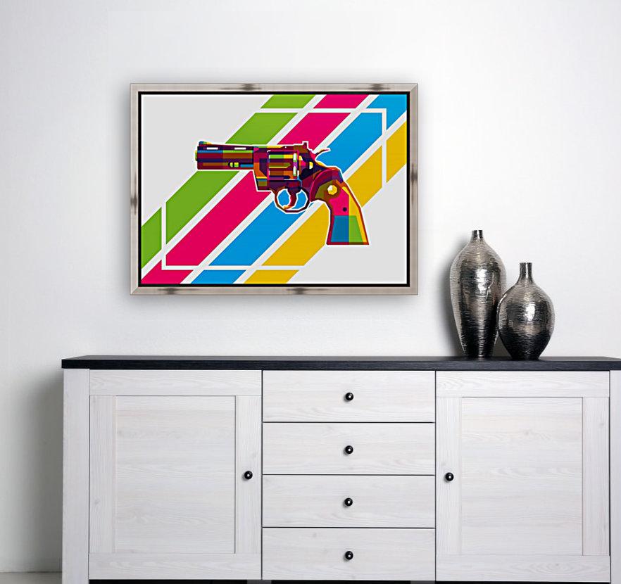 Python Handgun  Art