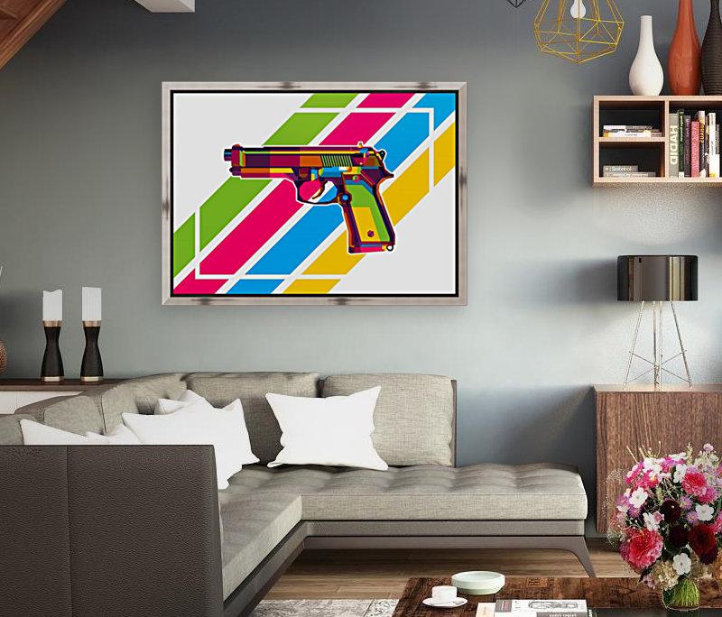 Classic Handgun  Art