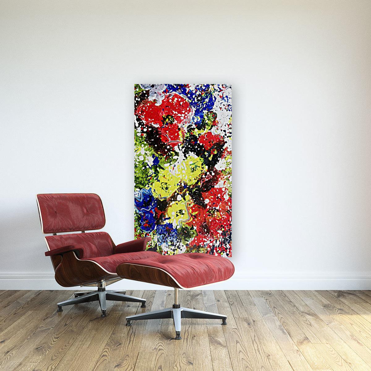 Primary Blossom 1  Art
