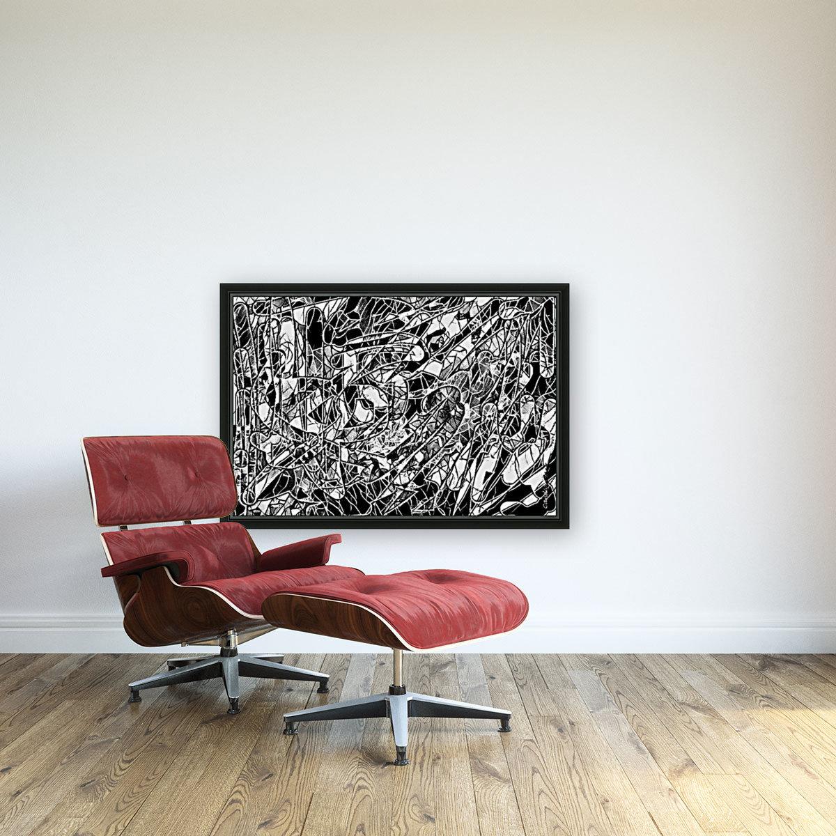 Black & White Art Threshold Light Texture  Art