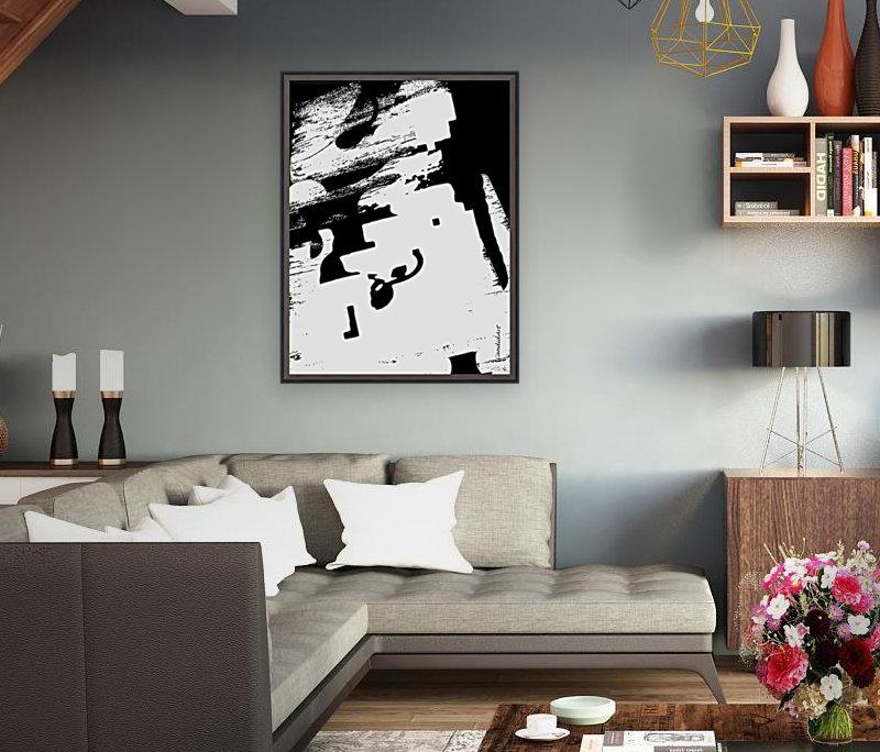 Black & White Form Texture Art D3200 1267  Art