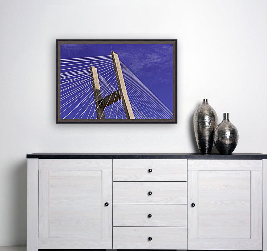 Talmadge Memorial Bridge   Savannah 04212  Art