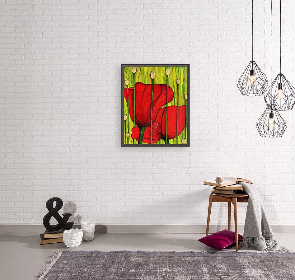 Coastal poppies  Art