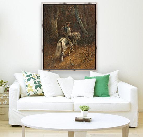 Reiter im Wald  Art
