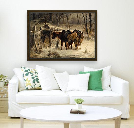 Resting horses  Art