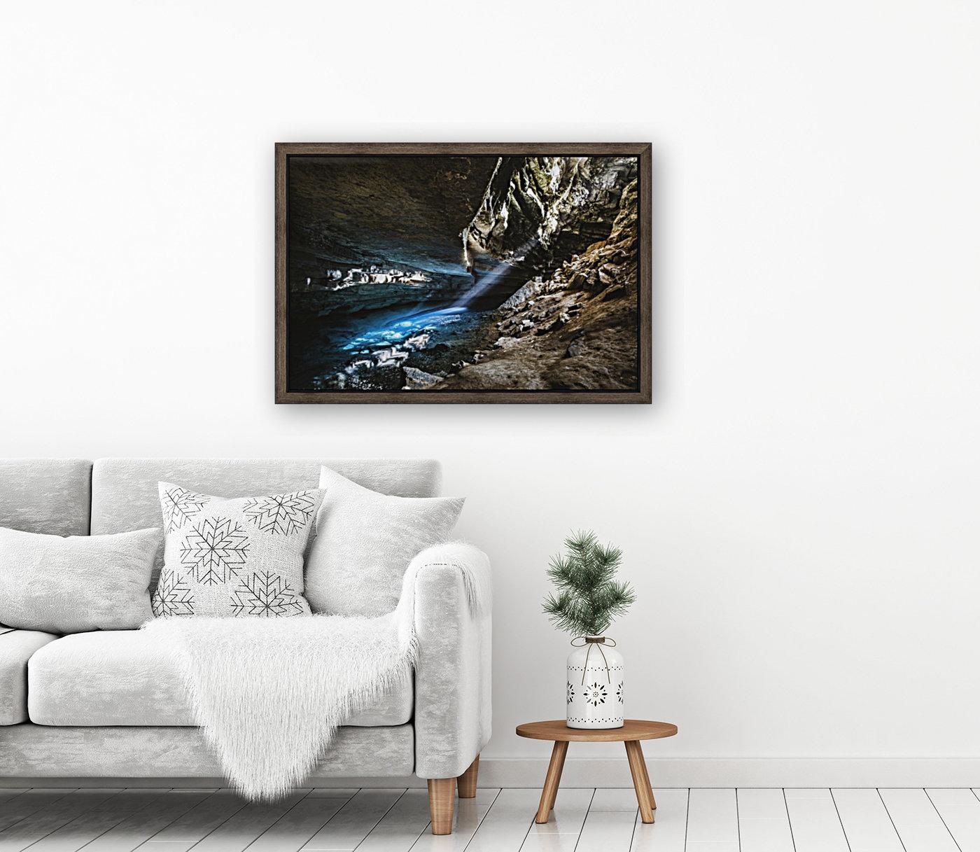 The Blue Cave  Art