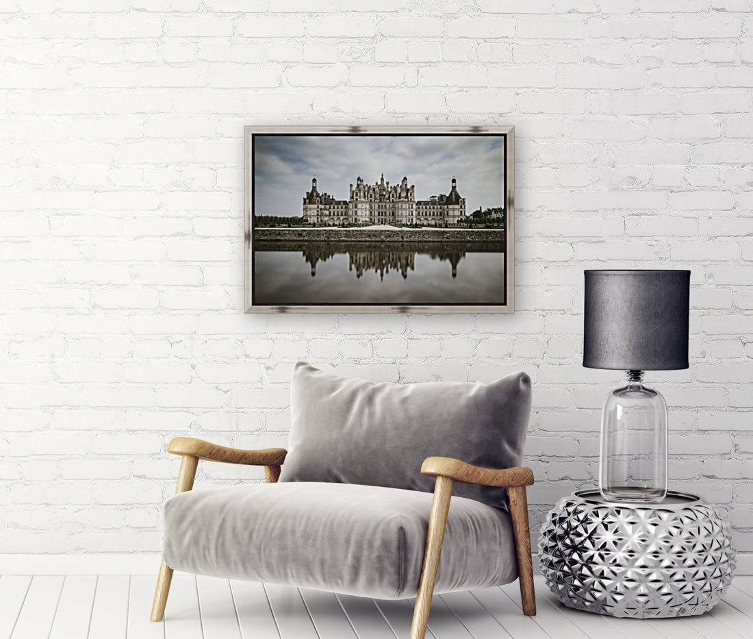 Chateau Chambord  with Floating Frame