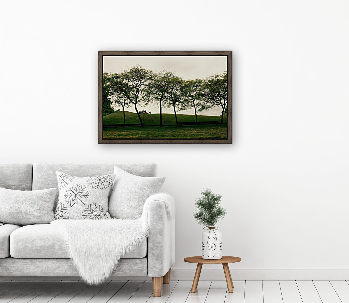 Trees with Floating Frame
