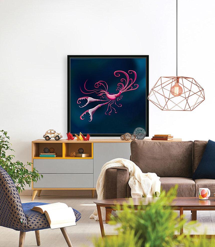 Aragosta Rosa  Art