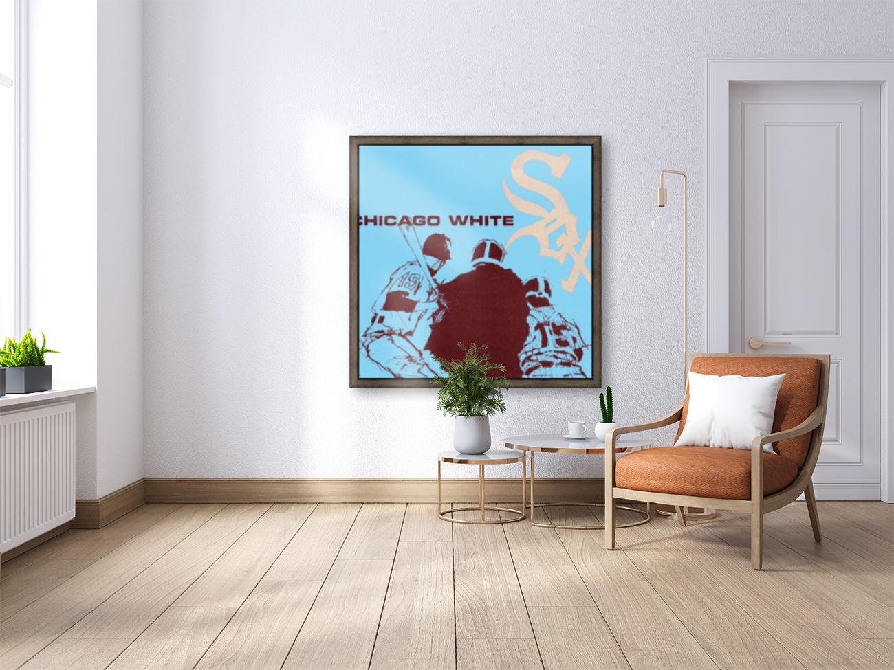 Chicago White Sox Baseball Poster Fine Art  Art