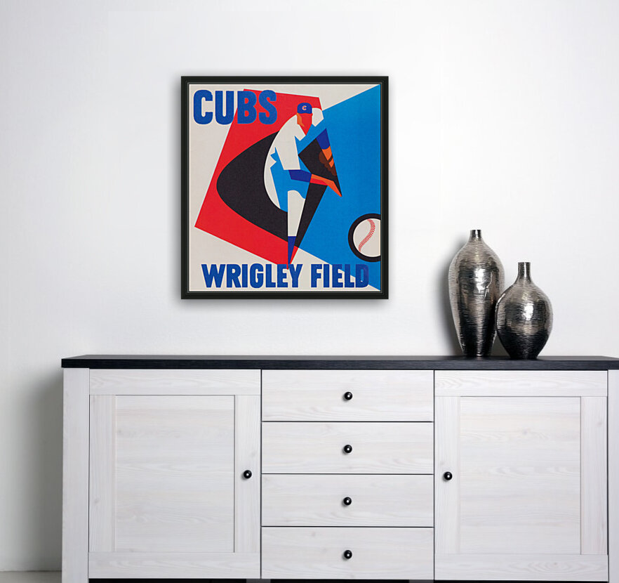 Cubs Wrigley Field Art  Art