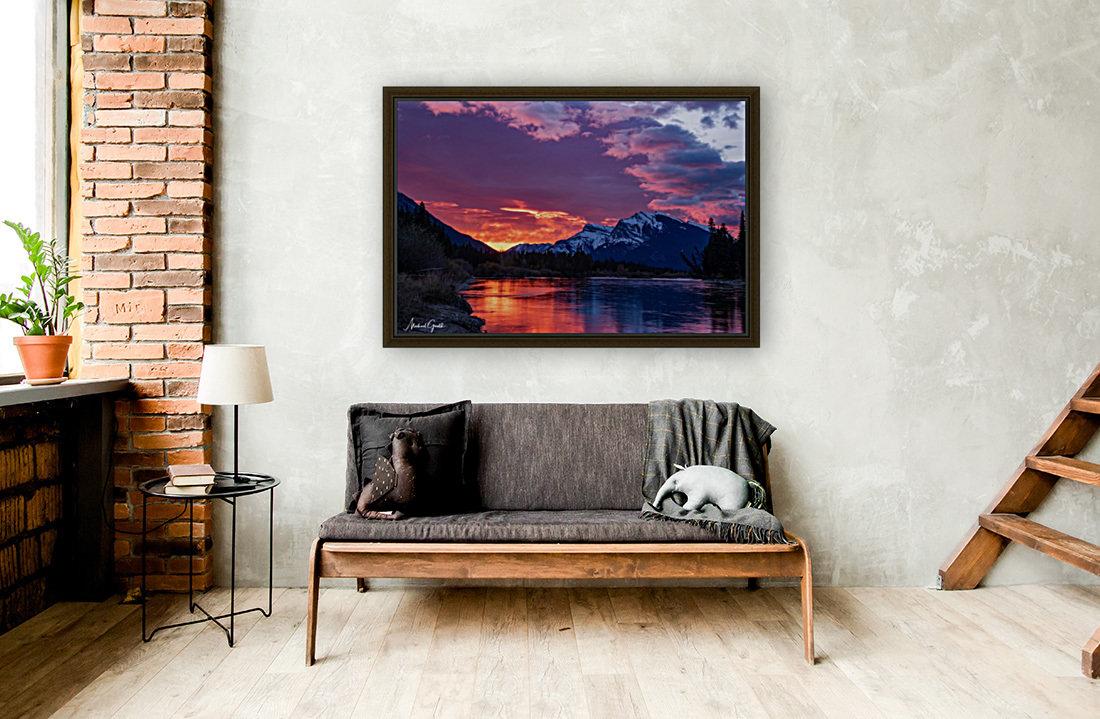 Bow River Sunrise East  Art