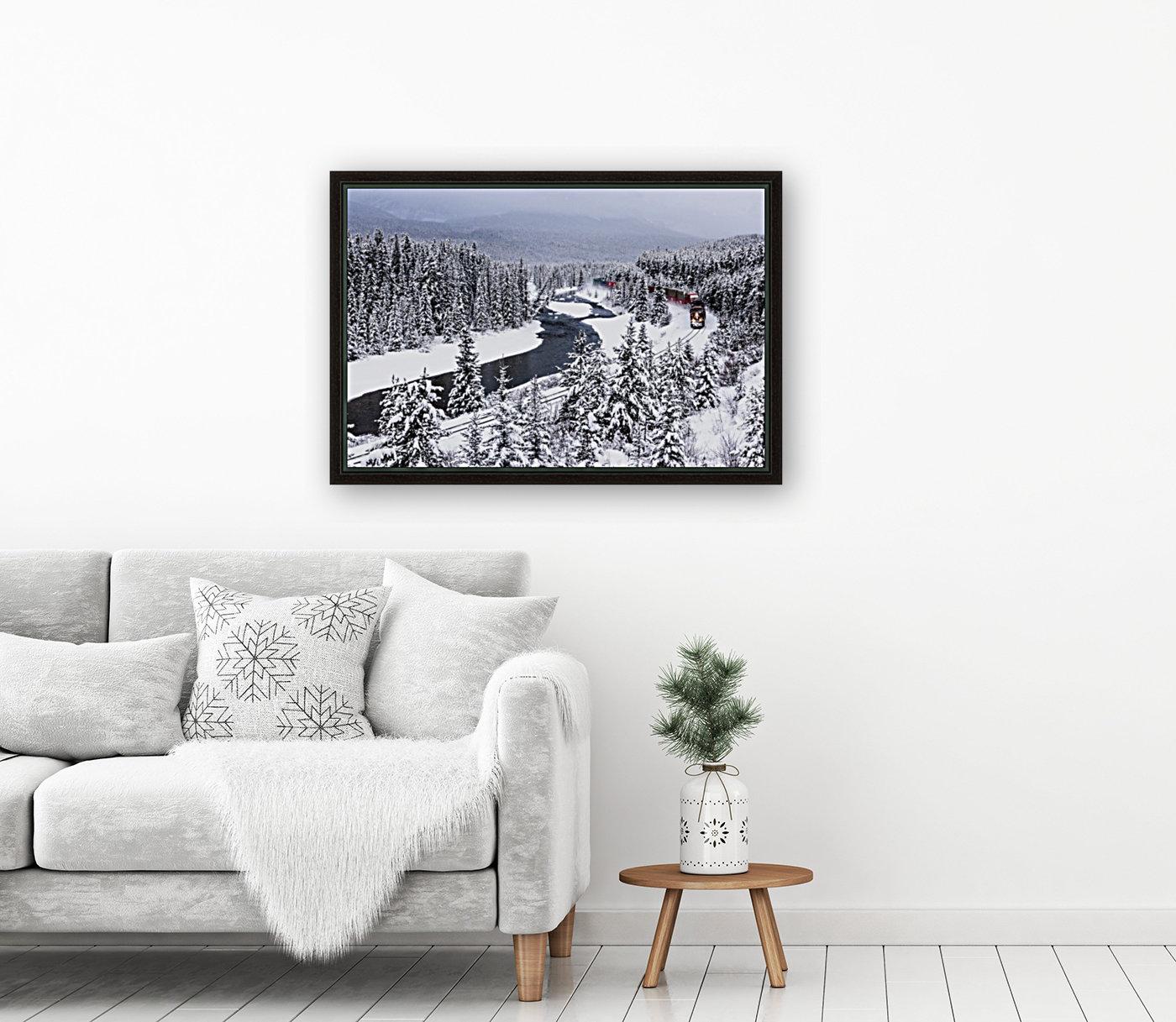 Morants Curve  Banff National Park  Art