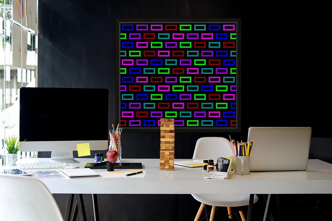 colourfulbrickspatterncolour  Art
