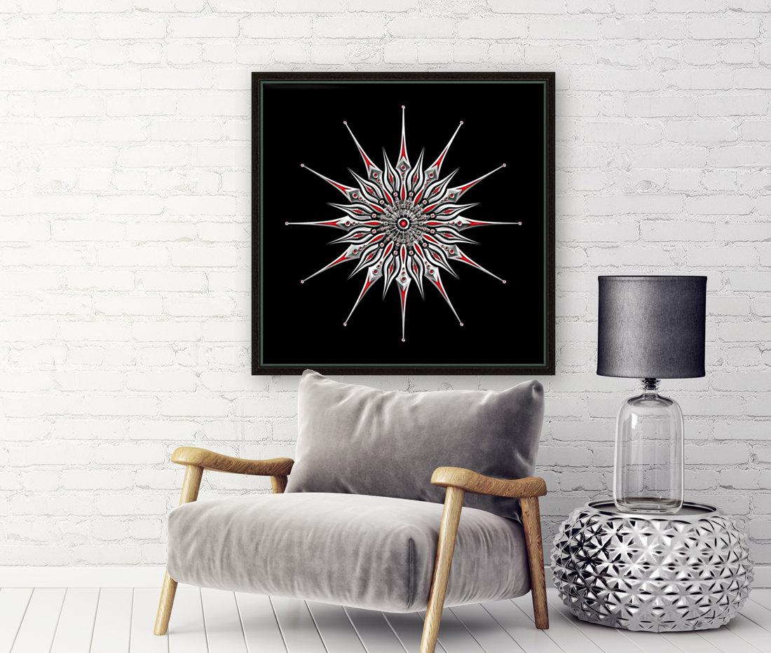 Starfish Fusion Mandala  Art