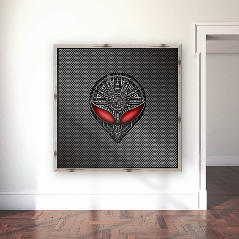 Altered Carbon Red Eye Reactor  Art