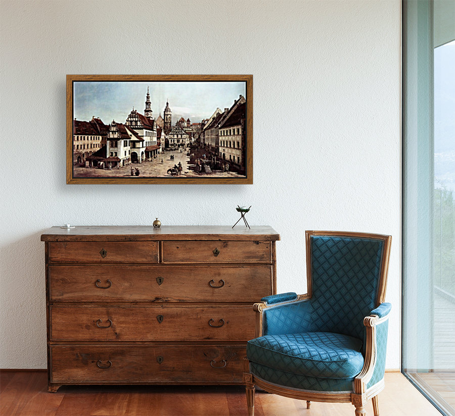 City of Pirna with Floating Frame