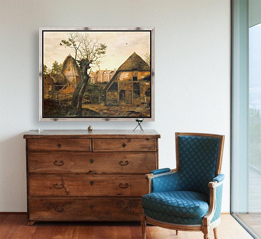Landscape with Farmhouse  Art