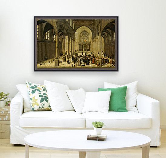 Church interior  Art