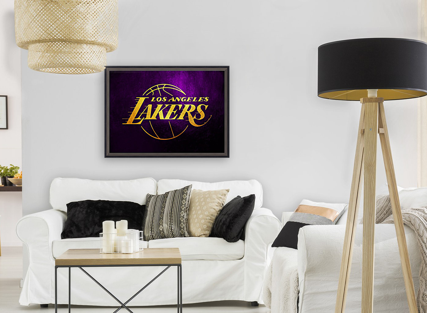 Lakers with Floating Frame