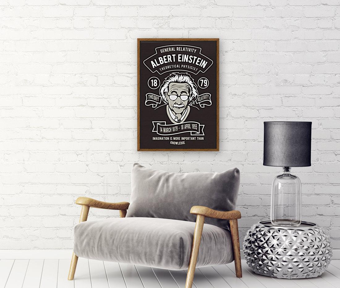 Albert einstein poster  Art
