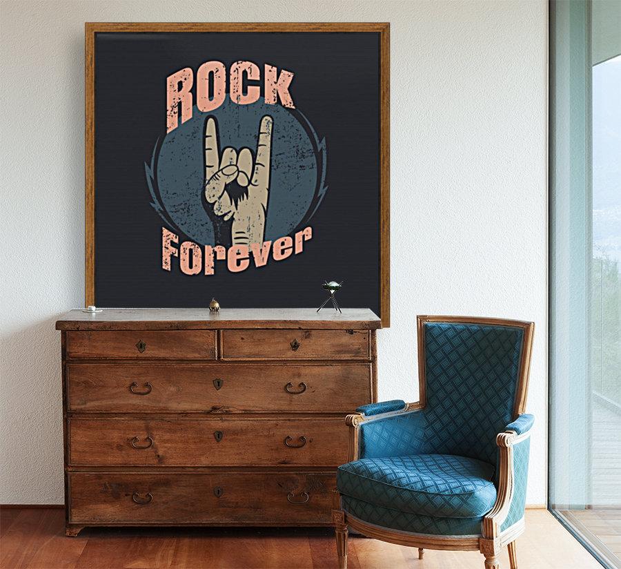 rock forever_  Art
