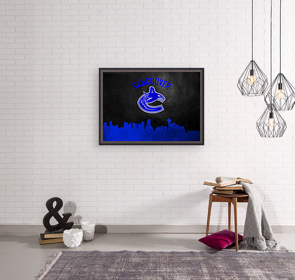Vancouver Canucks with Floating Frame