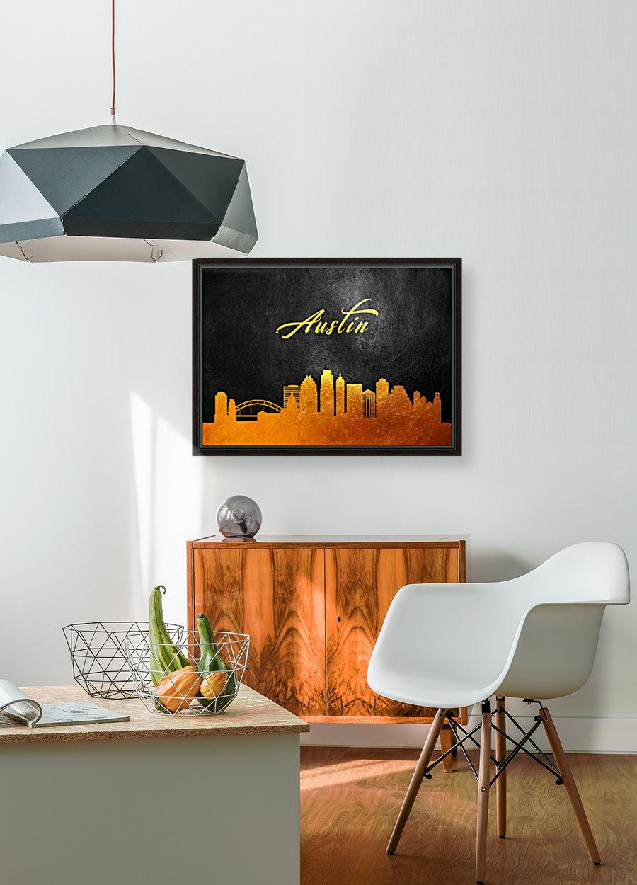 Austin Texas Skyline Wall Art  Art