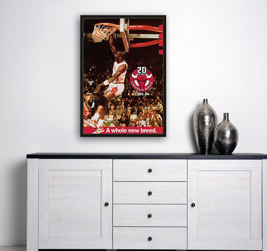 1985 Michael Jordan Dunk  Art