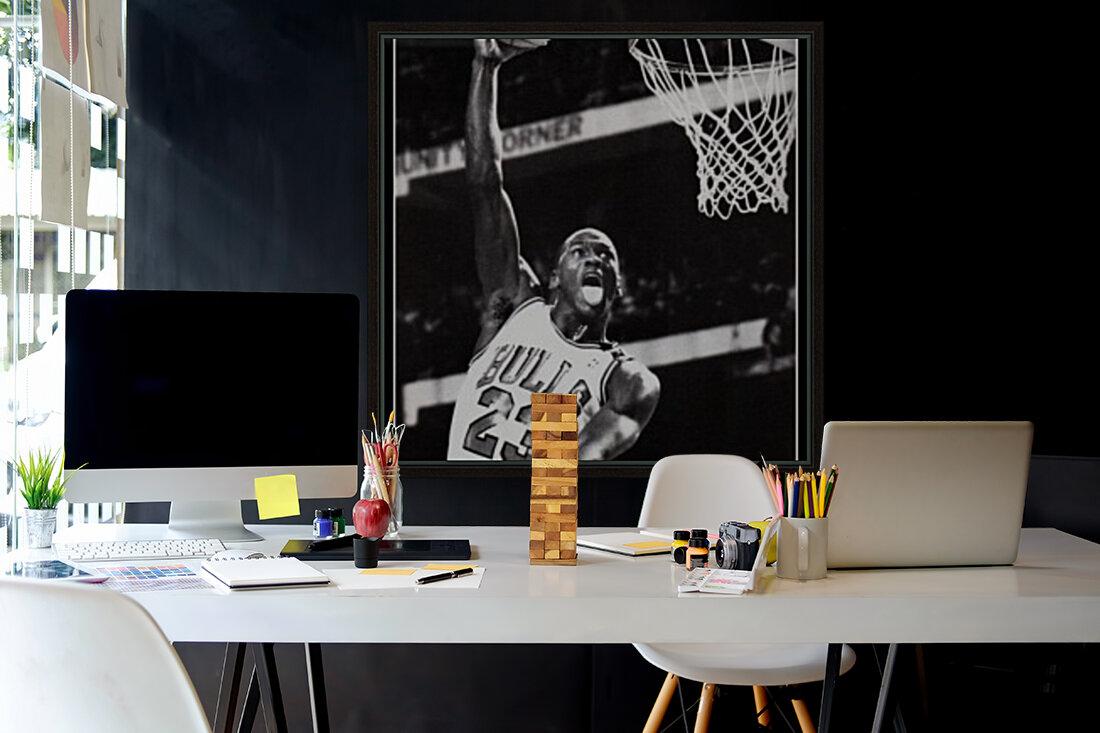Michael Jordan Art Print  Art