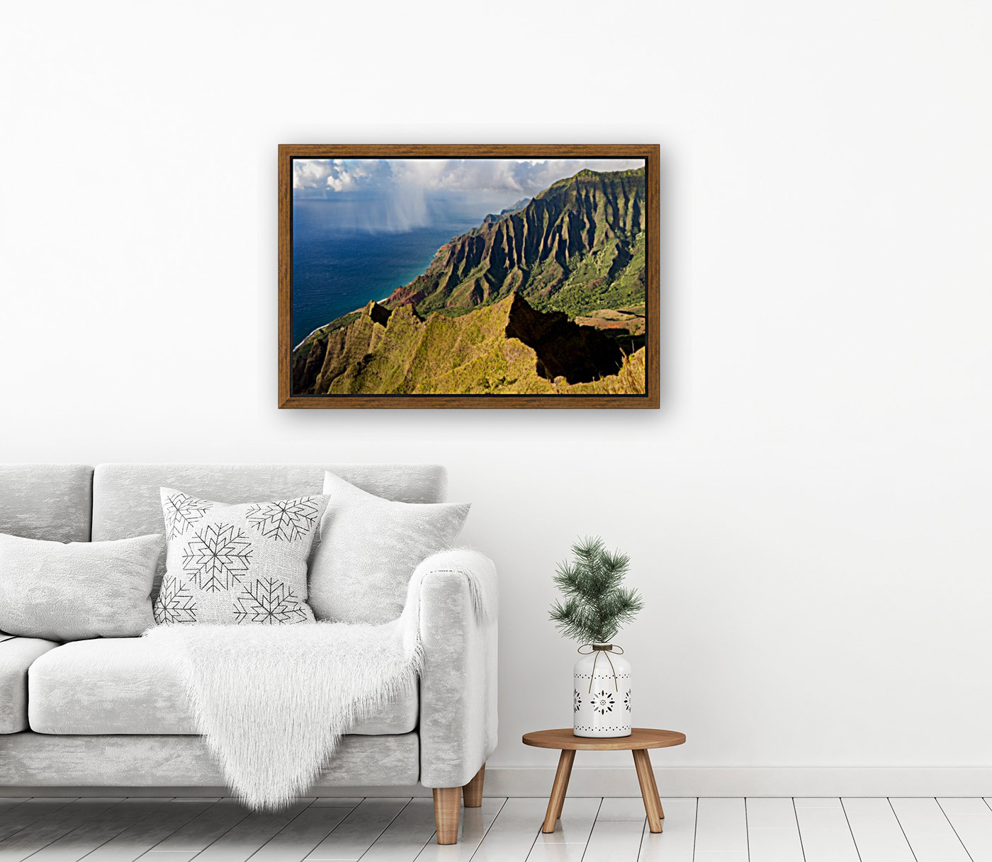 The Cliff Sides of Kauai  Art