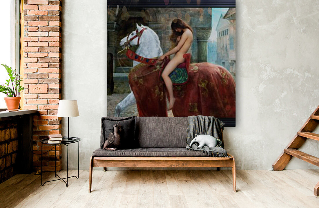 Lady Godiva By John Collier Old Masters Reproduction Xzendor7