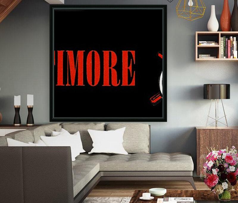 baltimore orioles retro remix row one  Art
